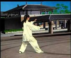 24 Simplified Tai Chi (back view) Demonstration