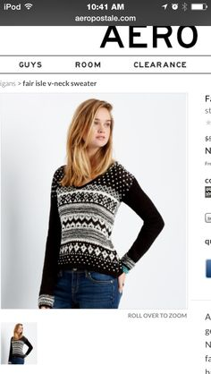 """""""This sweater in aéropostale is delightful & the designs r so invitful & since theres no other stores buy it plz buy it plz buy it plz"""""""