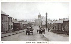 Pontop Rows Annfield plain Vintage Pictures, Old Pictures, Old Photos, Family History Book, History Books, Wesley Chapel, Great North, North East England, 1 Place