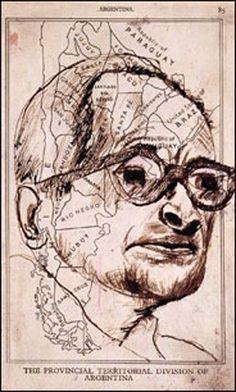 One of Peter Malkin's sketches of Adolf Eichmann.