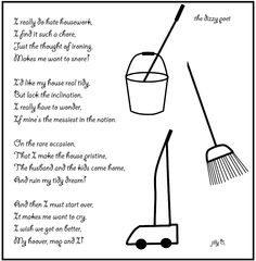 The Dizzy Poet: A Poem about Housework
