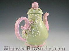 Whimsical Bliss Studios - Butterfly Teapot