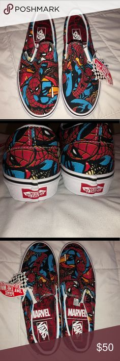 Shop Men s Vans size 10 Sneakers at a discounted price at Poshmark.  Description  MARVEL X VANS Exclusive! Spider-Man Knit like material NO BOX  Men s  10 ... 1aad76696