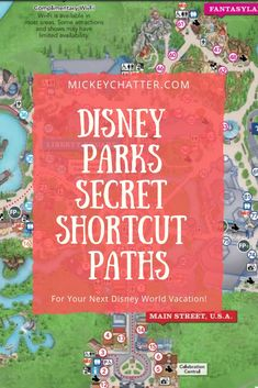 Disney World secret shortcut paths you need to know about in the parks before your next vacation! Learn about the secret shortcut paths in the Disney World parks so you can get around a lot quicker and with less crowds on the paths. Disney World Resorts, Disney World Vacation Planning, Disney World Florida, Disney World Parks, Disney Planning, Disney Vacations, Food At Disney World, Christmas At Disney World, Trip To Disney World