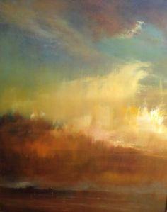 "Saatchi Art Artist Maurice Sapiro; Painting, ""Venetian Clouds"" #art"