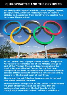 chiropractic at the olympics 2012