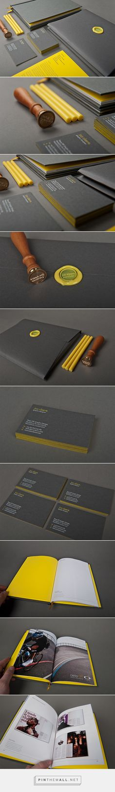 Self promotional material on Behance - created via https://pinthemall.net