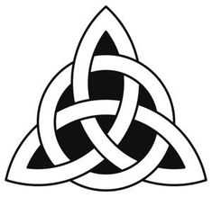 Celtic trinity knot Mother Father Child