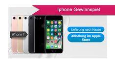 Hier haben wir noch ein gratis Iphone Gewinnspiel: Jetzt haben Sie die Chance ein Handy - iPhone 7 von Apple, zu gewinnen. Teilnahmeberechtigt sind Personen, die wohnhaft in der Bundesrepublik Deutschland, Österreich oder der Schweiz sind und das 18. Lebensjahr vollendet haben.  Teilnahmeschluss: 31.12.18. #Apple #Handy #iPhone #Smartphone #gutegewinnspiele #Elektronik #Erlebnis #handy #elektronik #iphone7 #einkaufsgutschein #geschenkgutschein #telefon #gewinnspiele #gewinn
