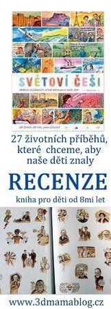 SVĚTOVÍ ČEŠI, recenze na www.3dmamablog.cz Nassau, Reading, Reading Books