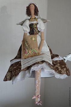 Коллекционные куклы ручной работы. Ярмарка Мастеров - ручная работа Кофейная фея Филиси (Удачливая). Handmade.