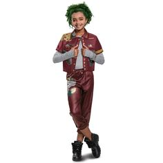 It's time to leave Zombietown and go to school with the human kids in Seabrook! It's time to help Zed be a football player and help him hack his Z-band! Just don't tell any humans or they'll get angry! Size: large (10-12). Gender: female. Age Group: adult. Tinkerbell Halloween Costume, Zombie Halloween Costumes, Zombie Party, Halloween 2018, Costume Wigs, Girl Costumes, Children Costumes, Costume Ideas, Teenage Girl Gifts Christmas
