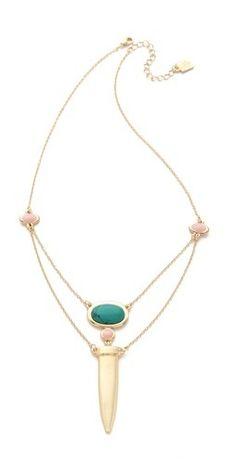 Rose Pierre Le Midi Chains Necklace    $80.00