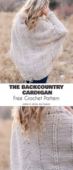 Longer Cardigan Free Crochet Patterns Longer Cardigan Free Crochet Patterns,Crochet The Backcountry Cardigan Free Crochet Pattern bags purses crafts stitches patterns stitch crochet crafts Pull Crochet, Stitch Crochet, Mode Crochet, Crochet Gratis, Crochet Stitches, Crochet Cardigan Pattern, Crochet Shawl, Knit Crochet, Crotchet