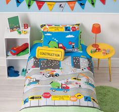 Your child's bedroom will be transformed into a construction site with our reversible Under Construction quilt cover set. The Under Construction quilt cover set bedding package set contains one quilt cover (comforter/duvet c Cubby Houses, Play Houses, Boys Single Bed, Mermaid Kids, Indoor Playhouse, Kids Tents, Quilt Cover Sets, Under Construction, Cubbies