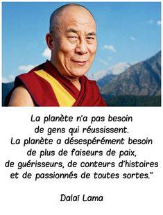 La théorie du tout: Dalaï Lama                                                                                                                                                      Plus