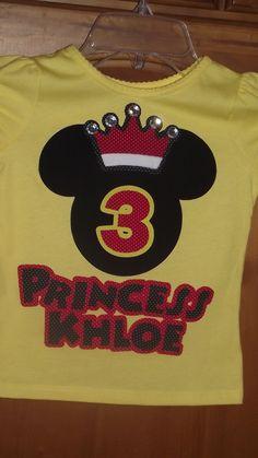 parti stuff, mickey mouse, birthday parties, princess crowns, birthday idea, tee shirts, appliqu, parti idea, disney birthday
