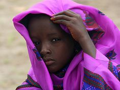 This photo was shot in a refugee camp in southern Chad | © Nate Miller