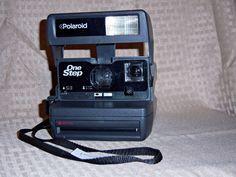 Vintage Polaroid One Step Flash Instant Camera - Uses 600 Film #1 #Polaroid