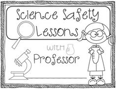 FREE Science Safety Mini-Unit K-5 {Science Printables} Science Posters