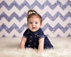 7ft x 7ft Dark Blue Glitter Chevron Photography by MyBackdropShop, $110.99.  Need another size? We can help!
