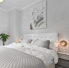 Decor, Furniture, Bedroom Colors, Bed, Home, Light Grey Walls, Bedroom, Home Decor, Room