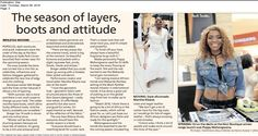 #TheStar #Page3 #NicciFashionCloset launch! #ZebraSquare You Look, Attitude, Product Launch, In This Moment, Boutique, Stars, Beautiful, Mindset, Star