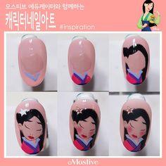 Cartoon Nail Designs, Nail Art Designs Videos, Disney Acrylic Nails, Disney Nails, Shellac, Gel Nails, Manicure, Nail Art Hacks, Nail Art Diy