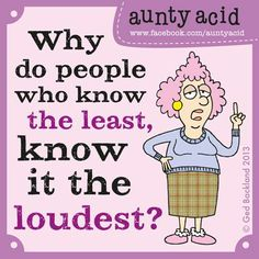 T.G.I.F   (Have you checked out your Daily, free, brand new Aunty A GoComics Today? Click the link folks! http://www.gocomics.com/aunty-acid/2013/06/14)