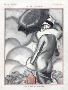 Julien Jacques Leclerc 1926 Elegant Parisienne