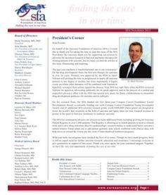 2012 Sarcoma Foundation of America Newsletter