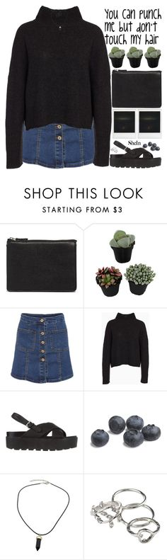 """""""my birthday is tomorrow """" by alienbabs ❤ liked on Polyvore featuring ASOS, One Teaspoon, Polaroid, SPURR, clean, organized and shein"""