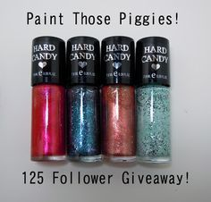 Paint Those Piggies!: 125 Follower Giveaway!