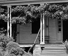 The Sunday porch/enclos*ure: Oakland Plantation, Airlie, No. Carolina, between 1935 and 1938, by Frances Benjamin Johnston, via Library of Congress