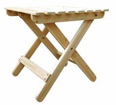 Shine Company Adirondack Square Folding Table (4109)