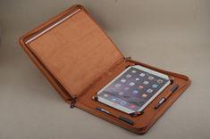 iPad folio with notepad