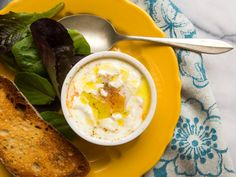 Eggs en Cocotte With Tomato and Goat Cheese Recipe | Serious Eats