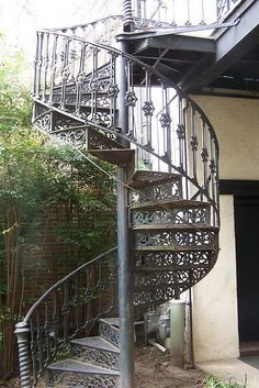 Lace Spiral Staircase by paustin110, via Flickr