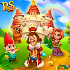 The snow is gone! Our Kingdom is blooming again! How wonderful! #royalstorygame #royalspring