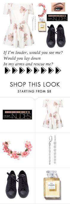 """""""Untitled #75"""" by silviamachado20 ❤ liked on Polyvore featuring Charlotte Russe, WithChic, Miss Selfridge and Blue Nile"""