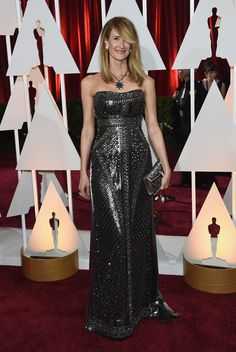 The 2015 Academy Awards: All the Pictures From the Red Carpet - Gallery - Style.com  Some felt it looked heavy, but I thought it was lovely on her.