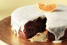 Νηστίσιμη πορτοκαλόπιτα με κακάο και καρύδι