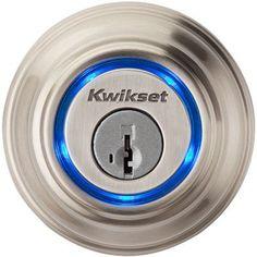 Kwikset Kevo - Satin Nickel - Verizon Wireless