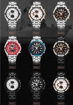 5be11f86d83 2016 Brand Luxury full stainless steel Watch Men Business Casual quartz  Watches Military Wristwatch waterproof Relogio New SALE