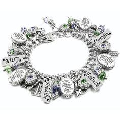 Mardi Gras mask Italian Charm Bracelet Link Classic Size 9 to choose from!