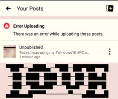 Wanted to share a screenshot of an error with all of you guys and ask you for an advice on solving it... It's a pity, but my Facebook mobile application on #GoogleAndroid didn't allow me to publish the post :( Did you have the same problems? What do you think #AboutIT? #Bug? #Facebook Mobile Application, Thinking Of You, Advice, Facebook, Guys, Thinking About You, Tips, Sons, Boys