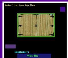 Wooden Privacy Fence Gate Plans 135941 - The Best Image Search