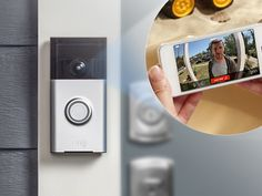 Ring, A Video Doorbell That Allows People to See and Speak With Visitors via Smartphone