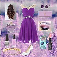 Prom in purple