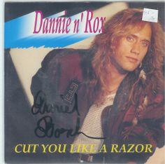 Dannien Rox Cut you like a razor   7:Inch